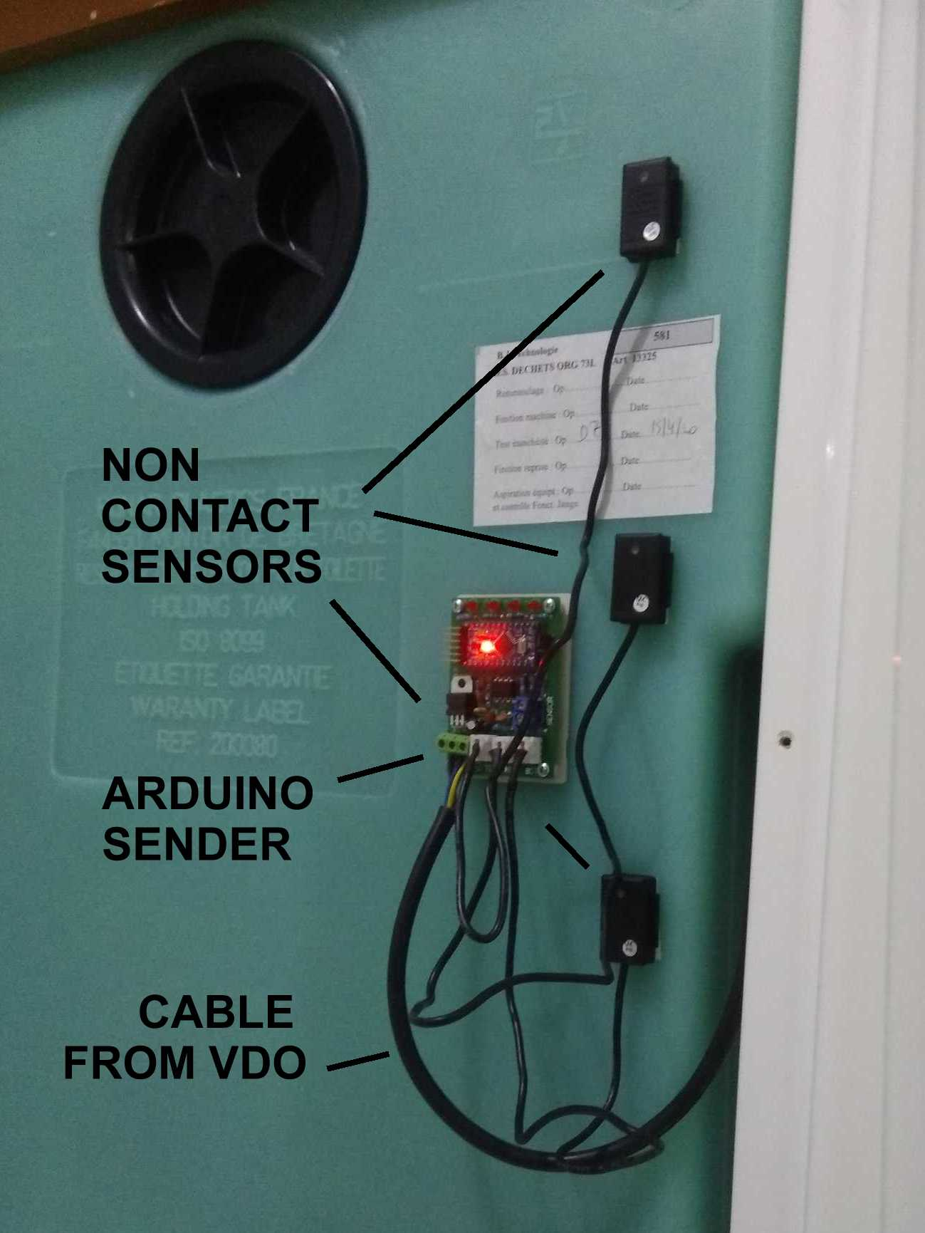 Tank Monitors Vdo Senders Wiring Diagrams How The Works